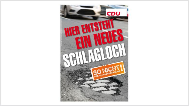 Sanierungsstau bei den Landesstraße: So nicht, liebe Landesregierung!