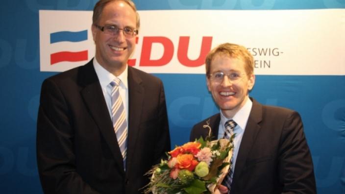 Daniel Günther und Tobias Koch